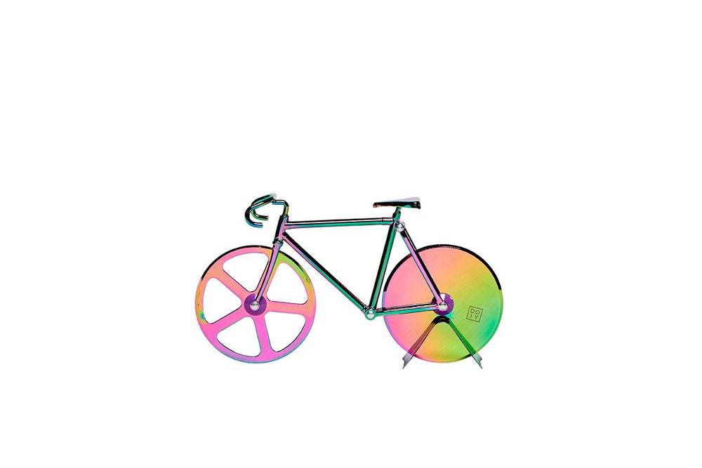 The Fixie Bike Iridescent Pizza Cutter