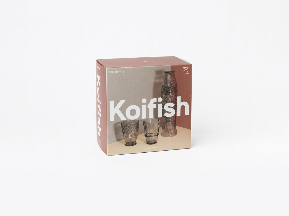 Load image into Gallery viewer, Koifish Warm Grey, Stackable Glasses