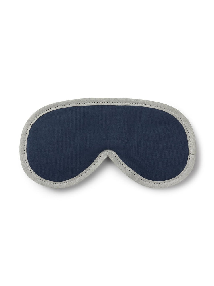 Emma Eye Mask, Jersey, Navy