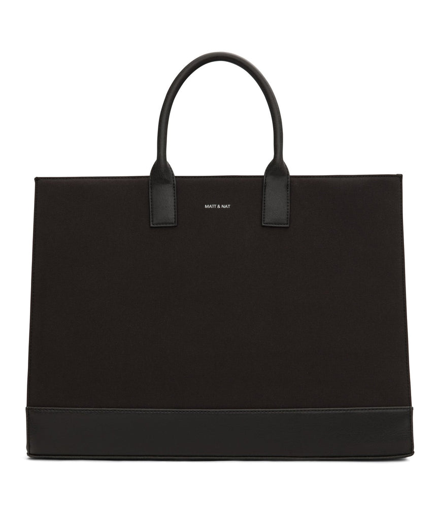 Joi Canvas Vegan Tote Bag Made of Recycled Plastic Bottles
