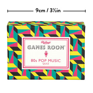 Load image into Gallery viewer, Ridley's Games Room 80s Pop Music Trivia Quiz
