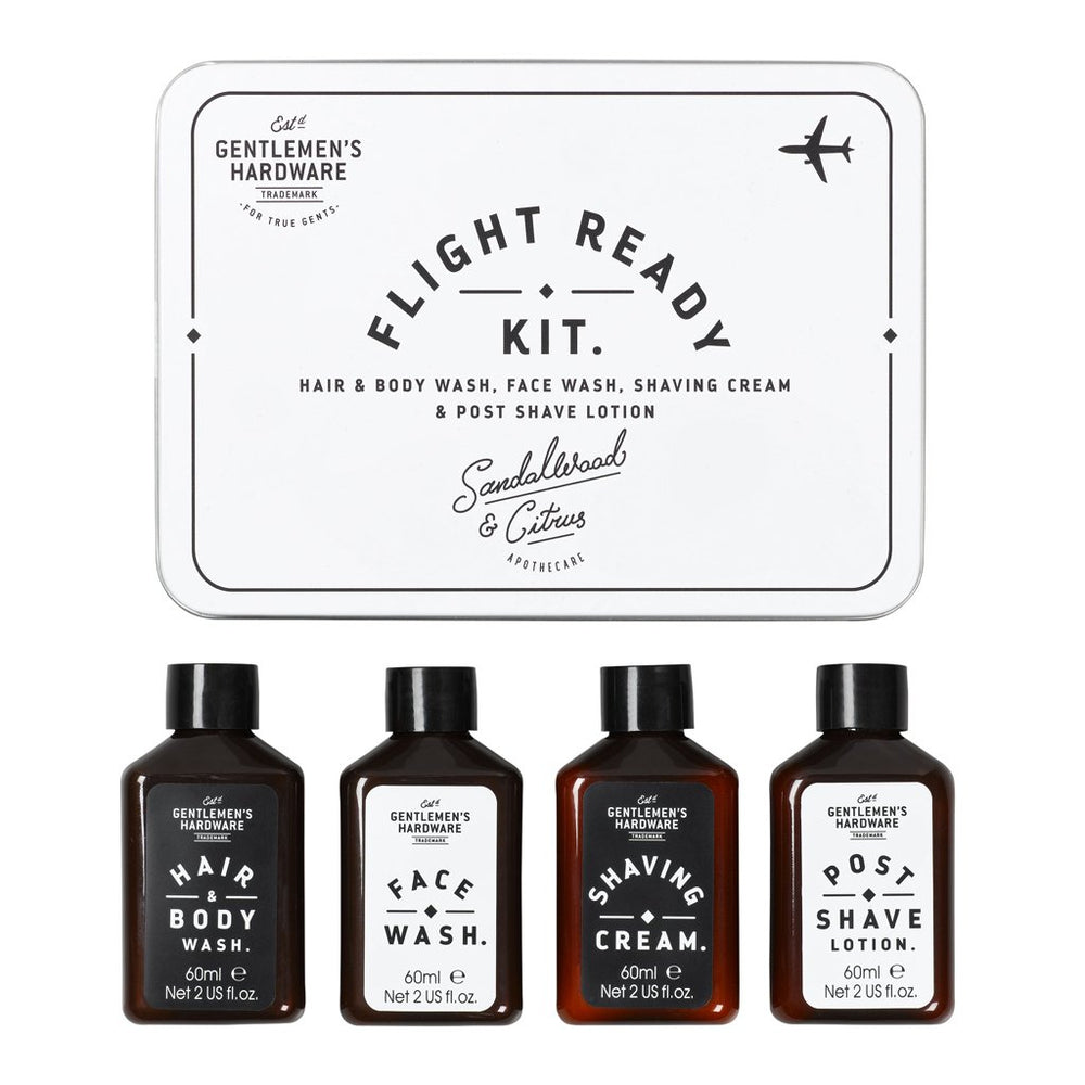 Load image into Gallery viewer, Gentlemen's Hardware Flight Ready Travel Kit Sandalwood & Citrus Apothecare
