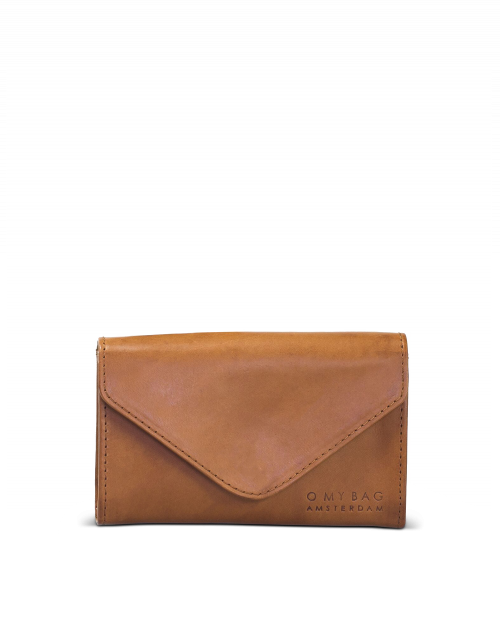 Load image into Gallery viewer, Envelope Pixie Wallet, Cognac