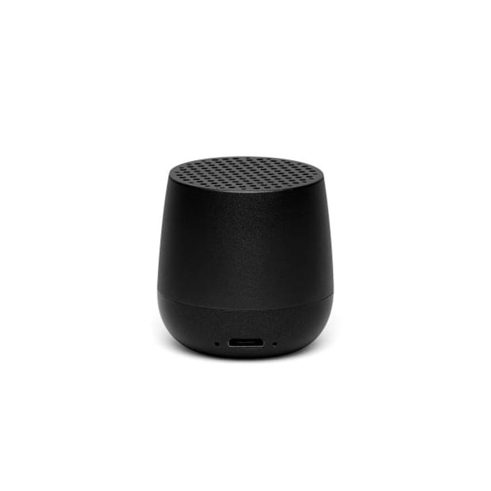 Black Mino 3W Portable Bluetooth® Speaker – TWS Technology