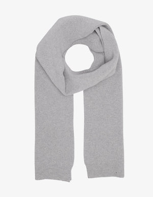 Load image into Gallery viewer, Heather Gray Merino Wool Scarf