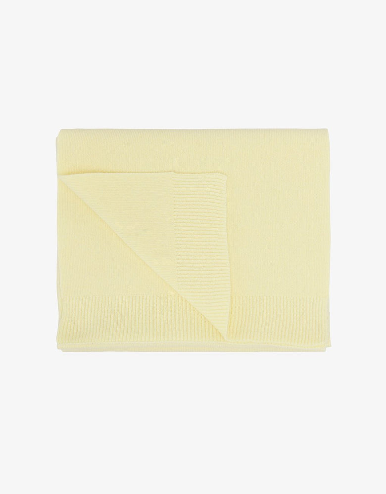 Load image into Gallery viewer, Merino Wool Scarf, Soft Yellow