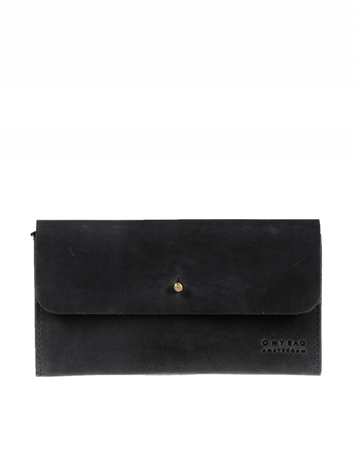 Pixie's Pouch Fold over Wallet, Black