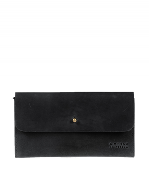 Load image into Gallery viewer, Pixie's Pouch Fold over Wallet, Black