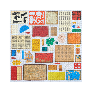 Load image into Gallery viewer, Several Found Things (Numbers, Letter, Shapes) Puzzle 1000 Pieces