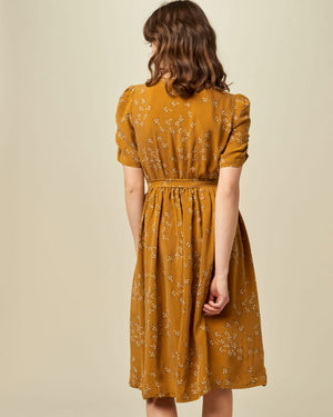 Load image into Gallery viewer, Roselili Buttoned Dress, Golden