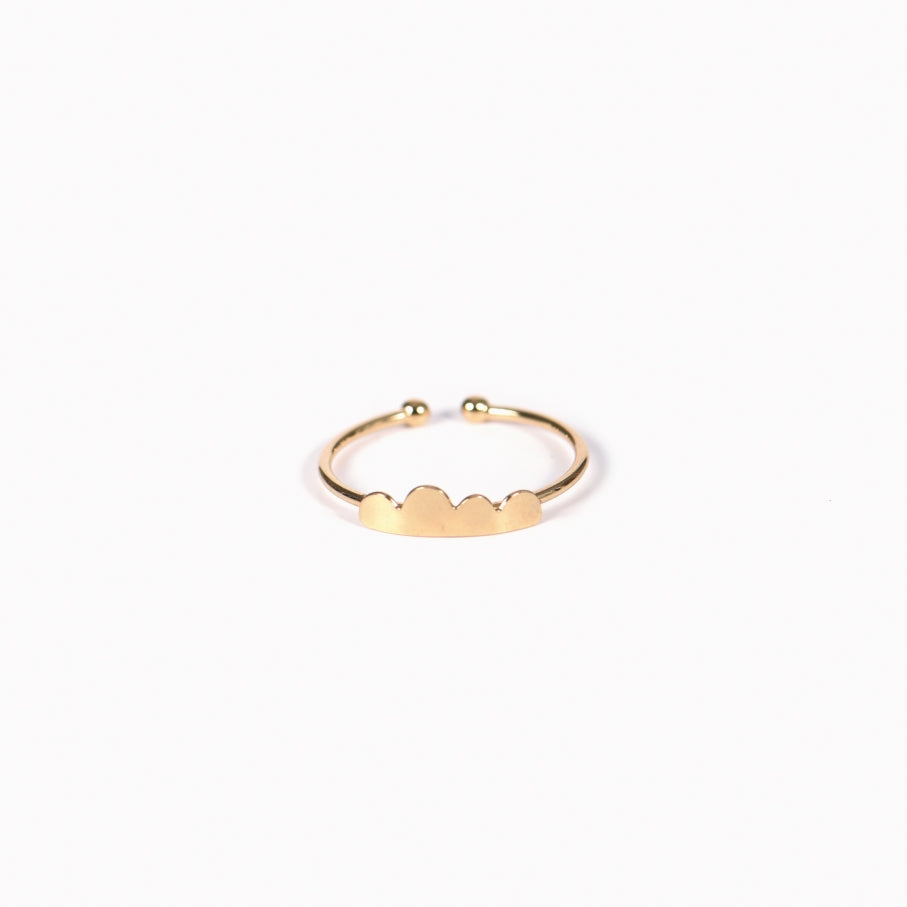 Mulberry Ring, Gold Plated