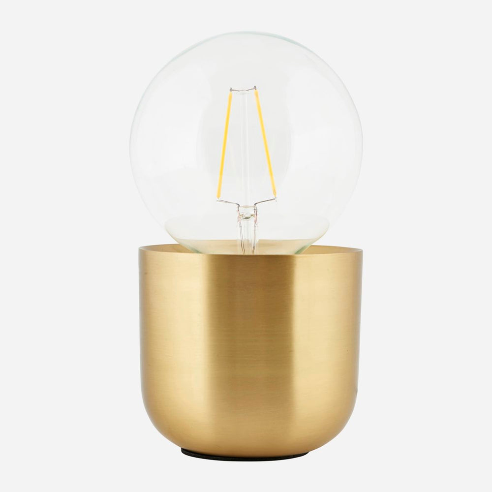 Table Lamp, Gleam Brass