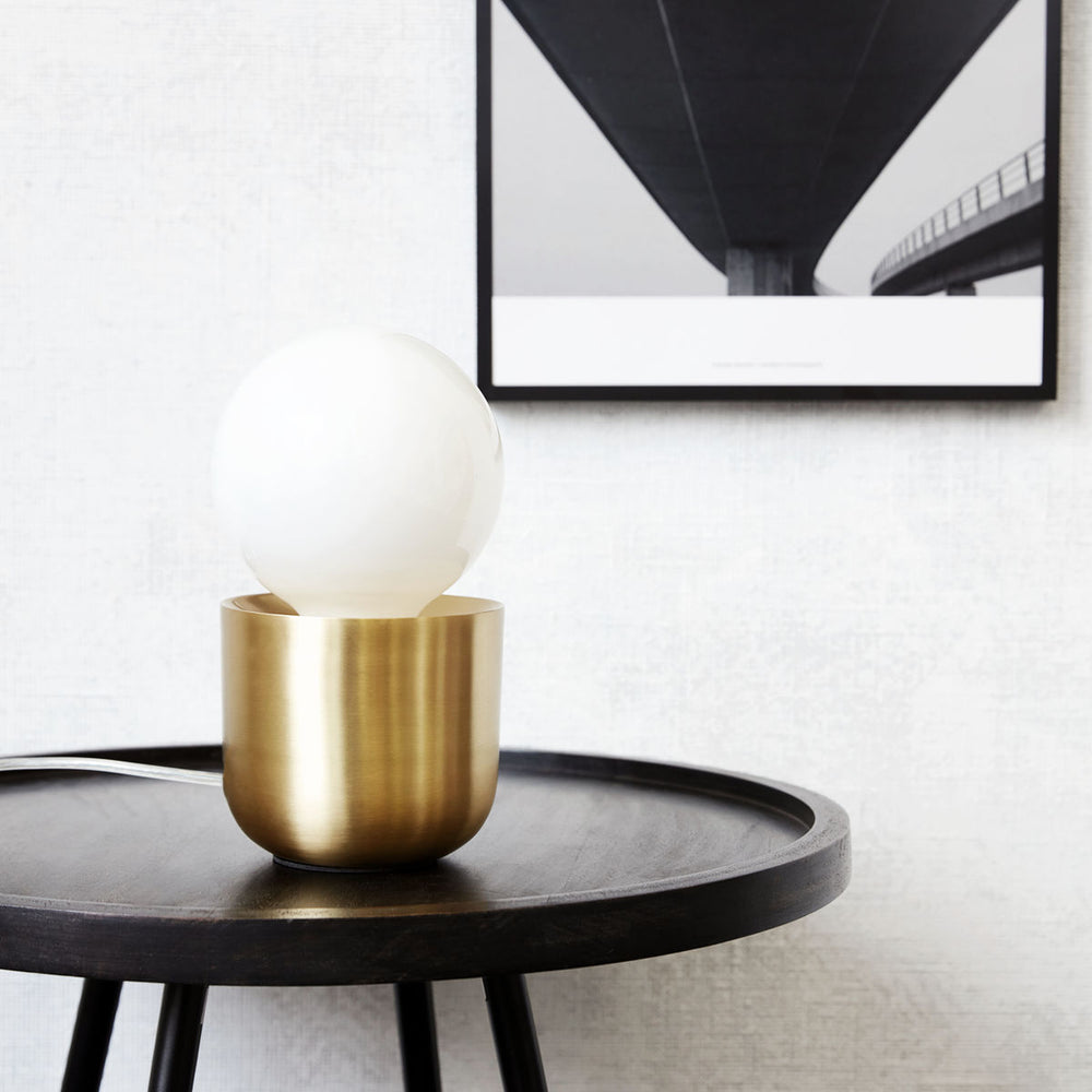 Load image into Gallery viewer, Table Lamp, Gleam Brass