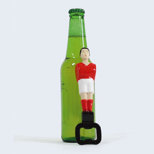 Load image into Gallery viewer, Red Foosball Bottle Opener
