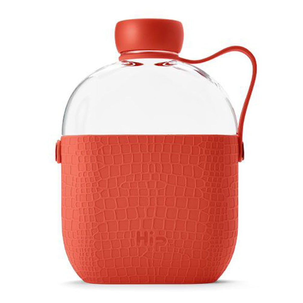 650ml Coral Red Water Bottle
