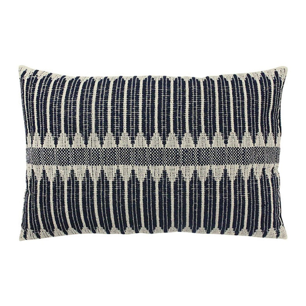 Black & White Aztec Weave Cushion