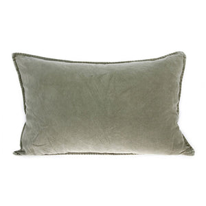 Load image into Gallery viewer, Green Velvet Cushion