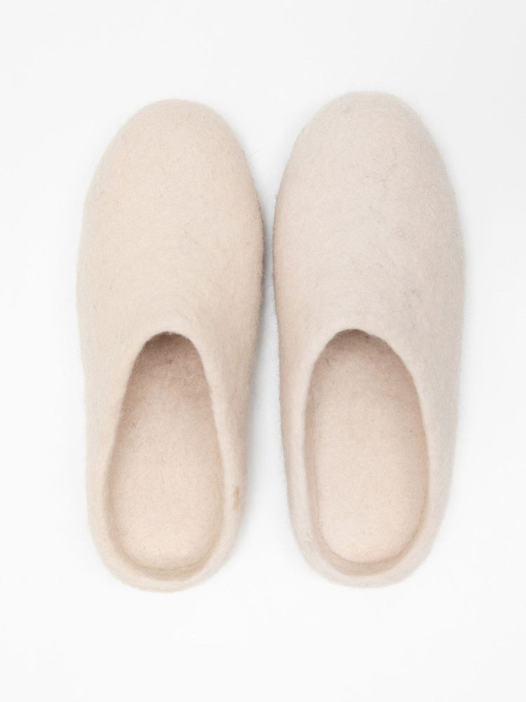 Bella Slipper, Cream