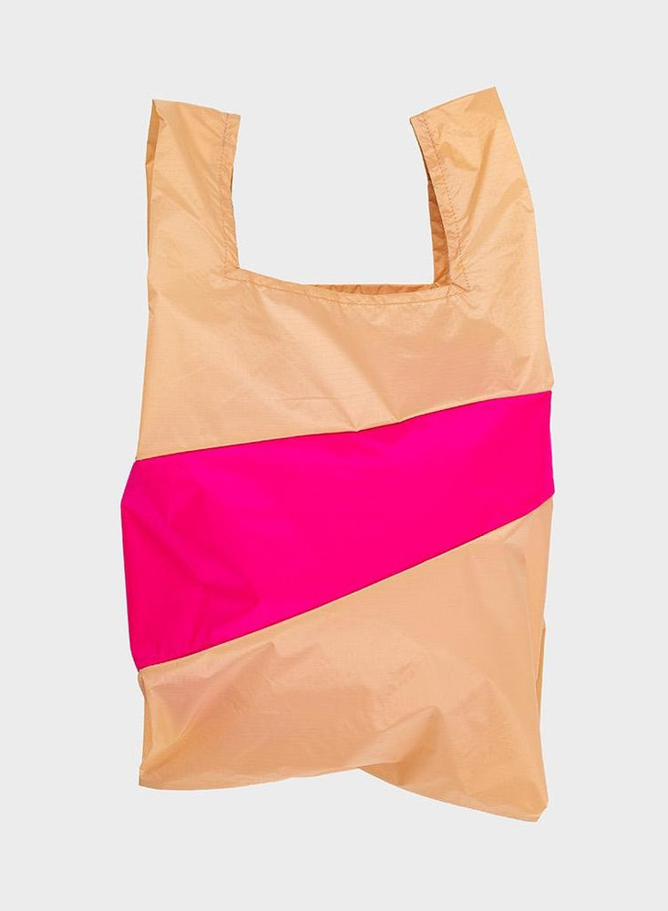Load image into Gallery viewer, Shopping Bag, L, Peach Pretty Pink