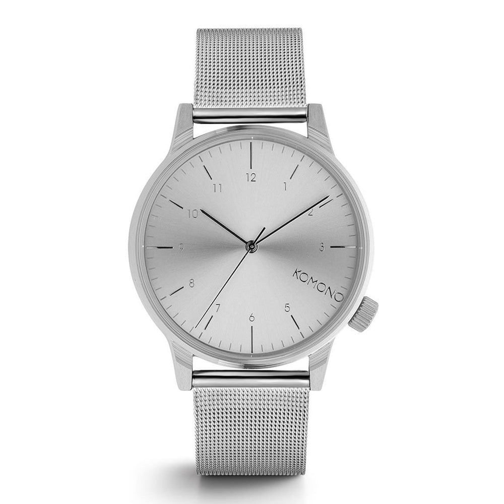 Silver Winston Royale Watch