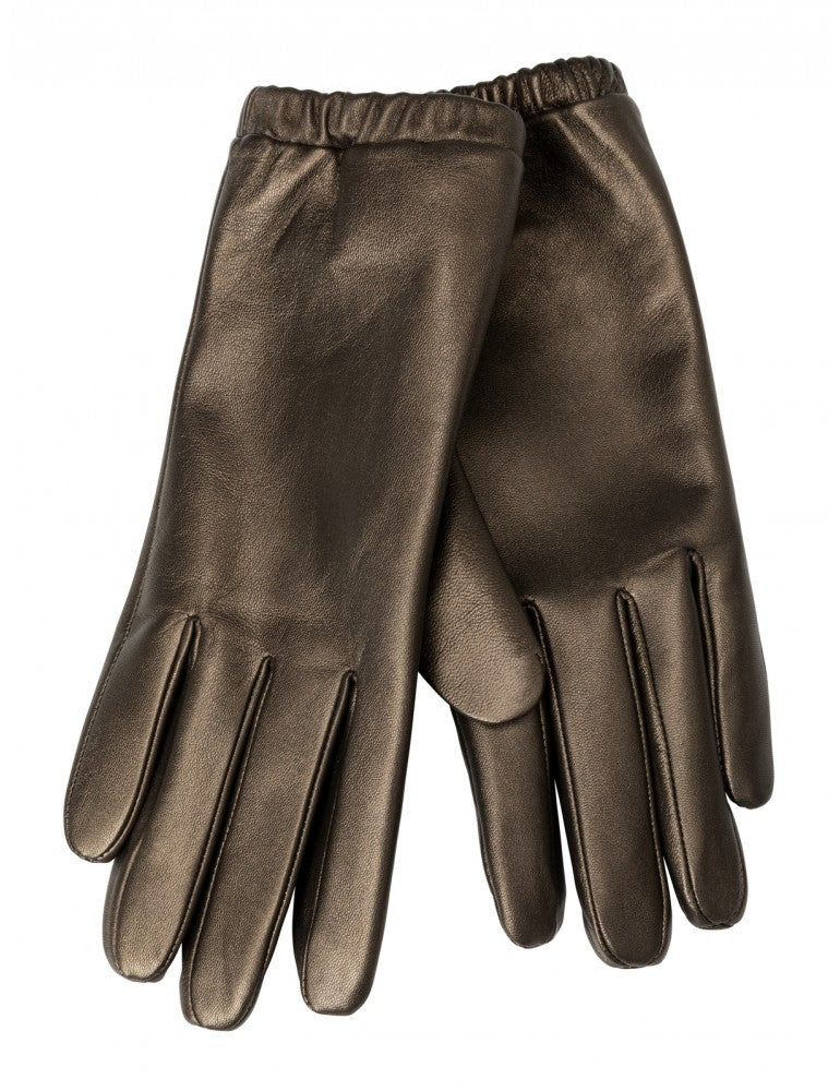 Lather Gloves, Black