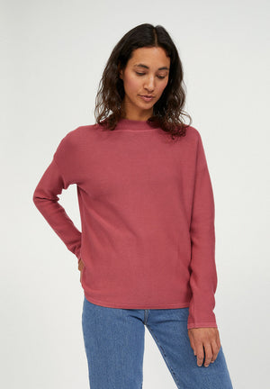 Load image into Gallery viewer, MEDINAA Cinnamon Rose Organic Cotton Sweater