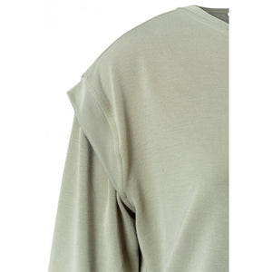 Load image into Gallery viewer, Modal Bland Sweatshirt with Rib Shoulders, Silver Sage