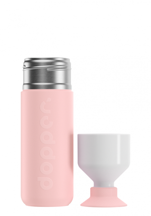 Load image into Gallery viewer, Insulated Bottle 580 ml - Steamy Pink
