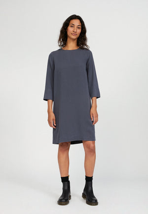 Load image into Gallery viewer, Dress made of TENCEL™ Lyocell, Anthra