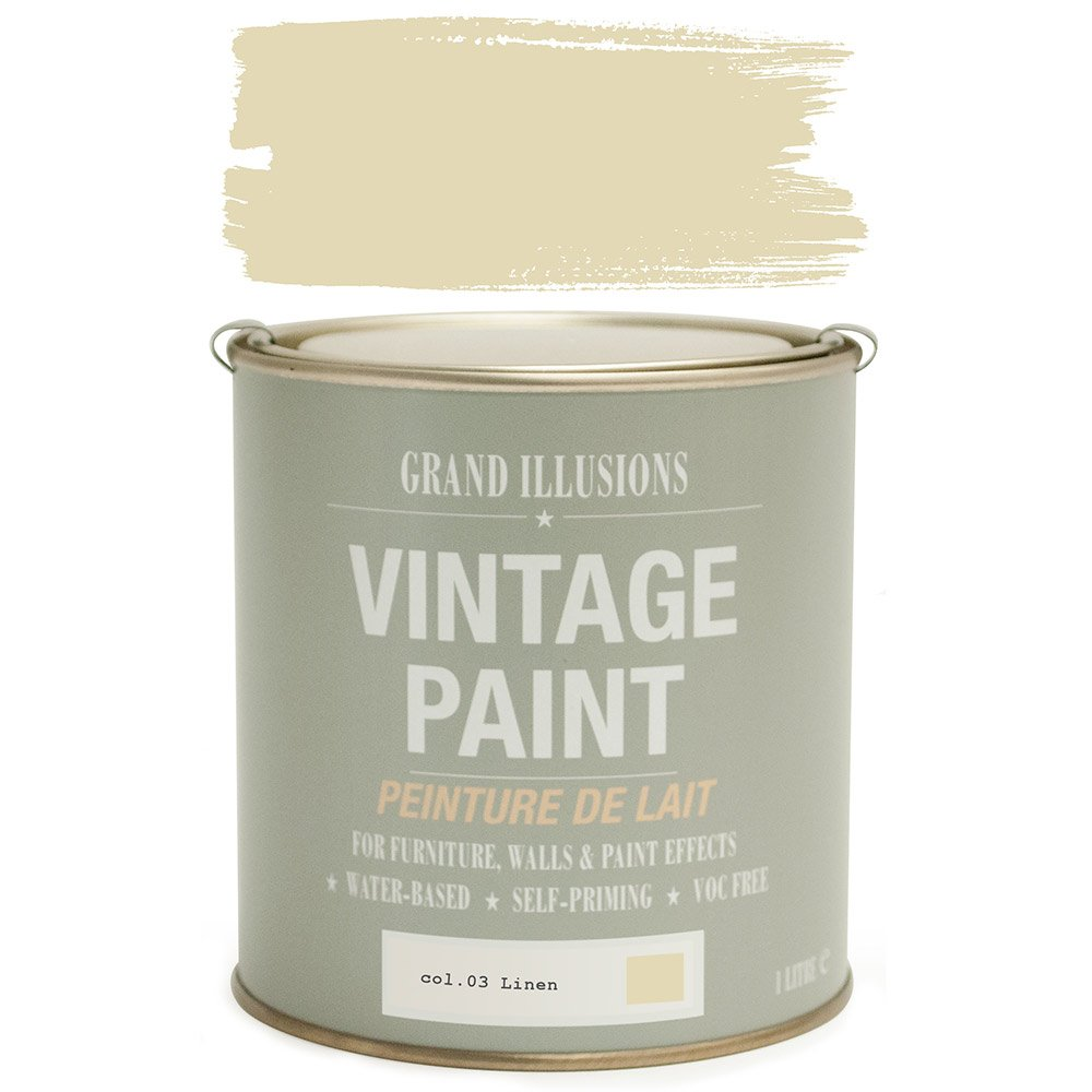 Load image into Gallery viewer, Linen Vintage Chalk Paint No.03 1L