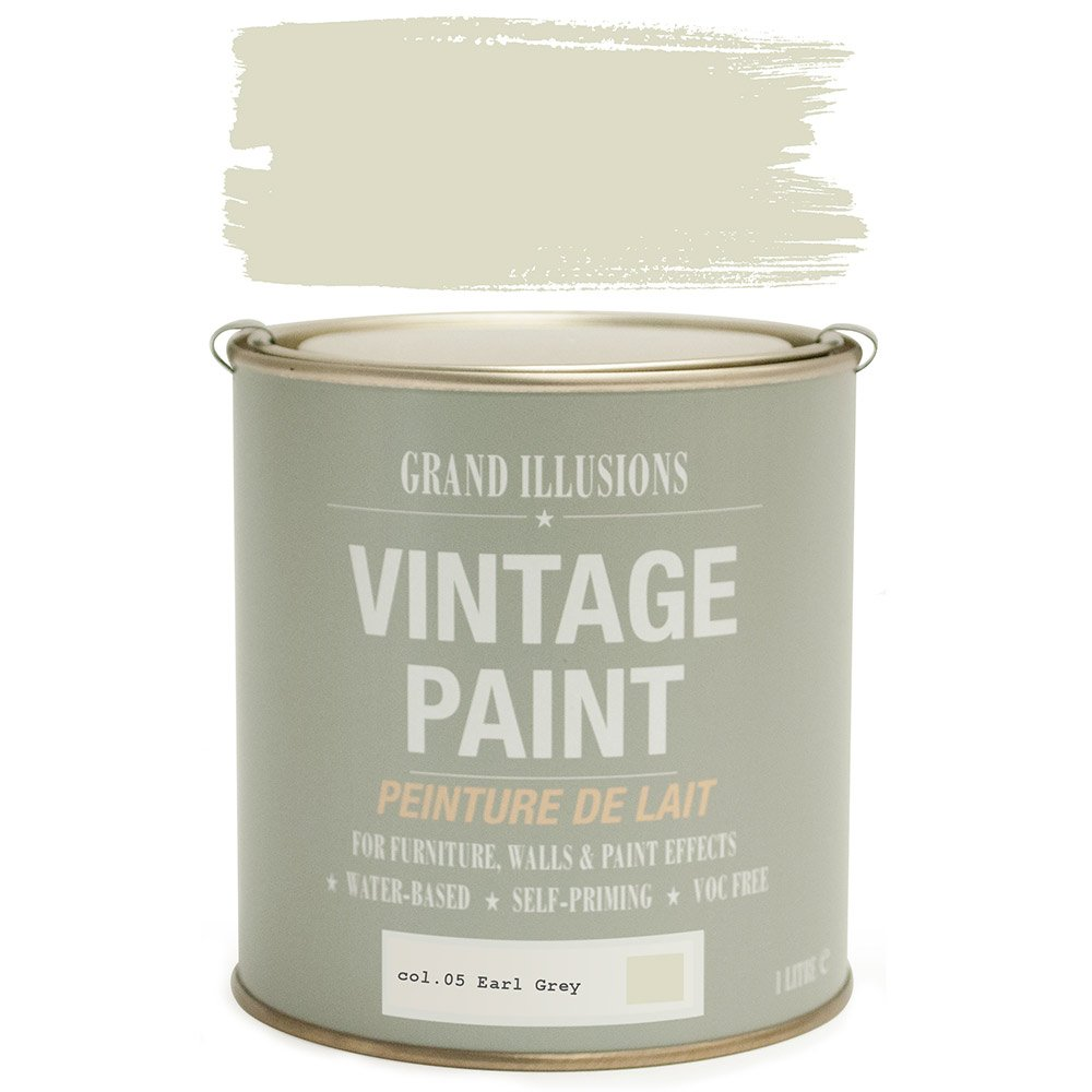 Load image into Gallery viewer, Earl Grey Vintage Chalk Paint No.05 1l