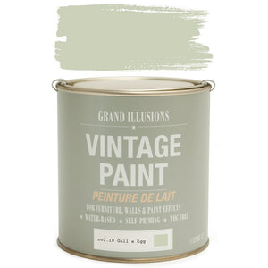 Load image into Gallery viewer, Gull's Egg Vintage Chalk Paint No.18 125ml