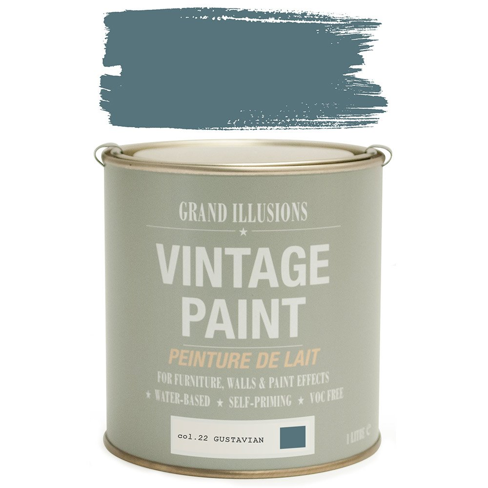 Load image into Gallery viewer, Gustavian Vintage Chalk Paint No.22 125ml