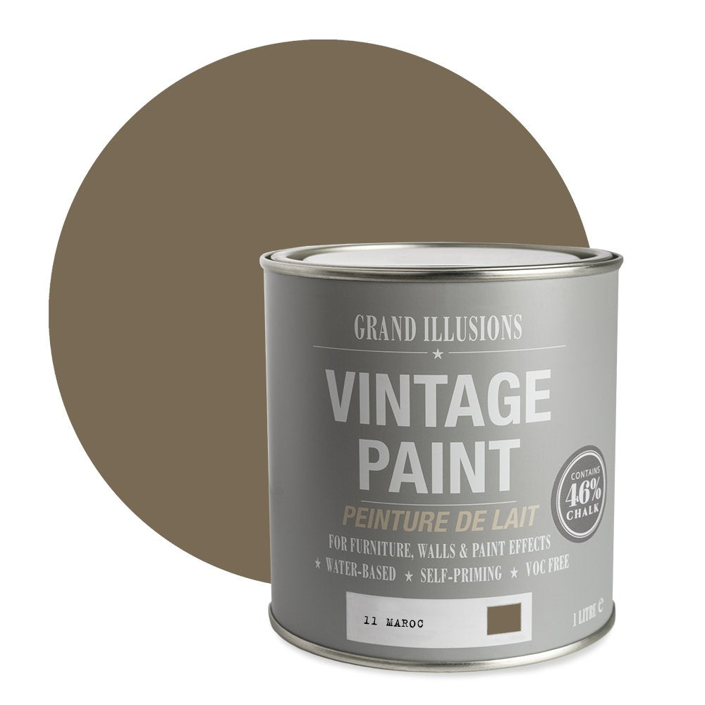 Load image into Gallery viewer, Maroc Vintage Chalk Paint No. 11 1l