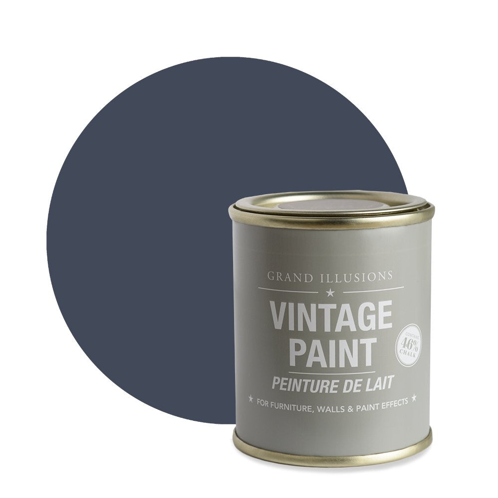 Nordic Blue Vintage Chalk Paint No.23 125ml