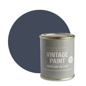 Load image into Gallery viewer, Nordic Blue Vintage Chalk Paint No.23 125ml