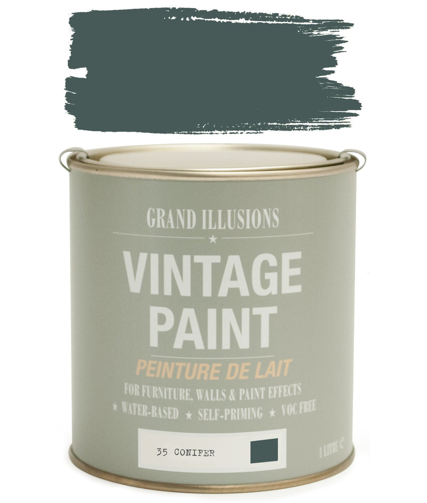 Load image into Gallery viewer, Conifer Vintage Chalk Paint No.35 1l
