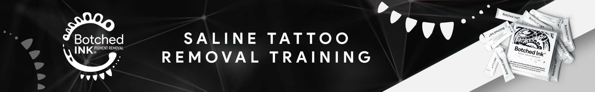 Botched Ink saline tattoo removal training microblading permanent makeup