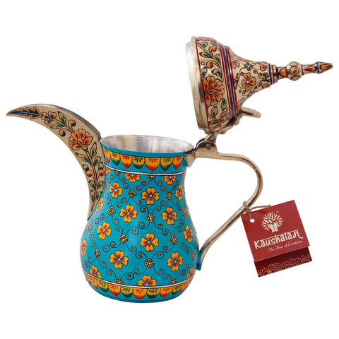 Arabic Dallah Brass Coffee pot- Sabaa