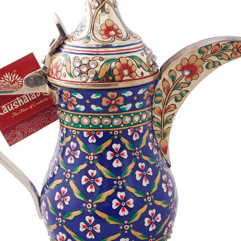Arabic Dallah Brass Coffee pot- Leila
