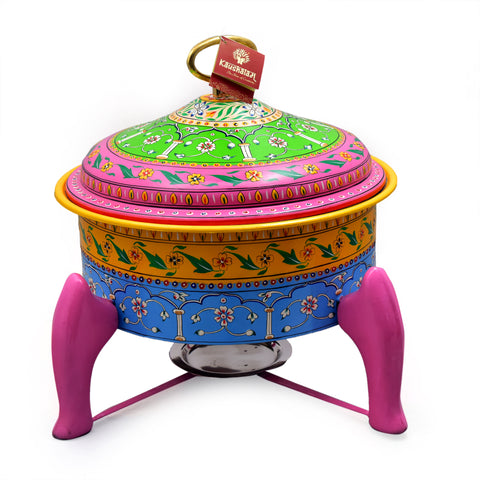 Hand Painted Chafer - Colourful Mughal