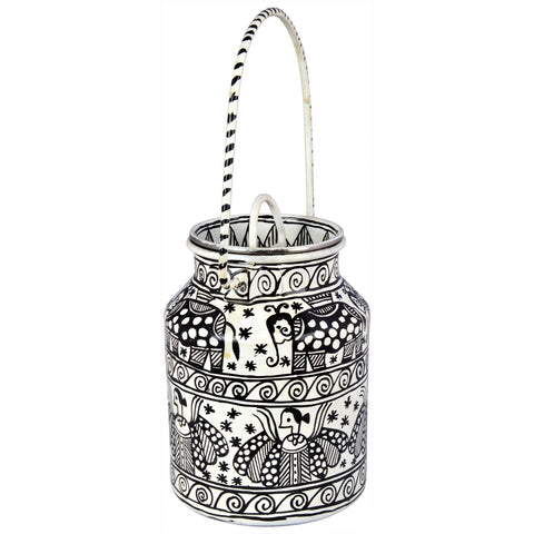 KAUSHALAM BUCKET: White & Black