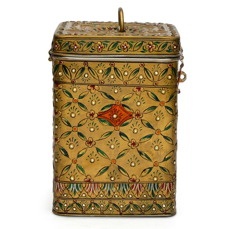 KAUSHALAM CANISTER: MUGHAL COPPER