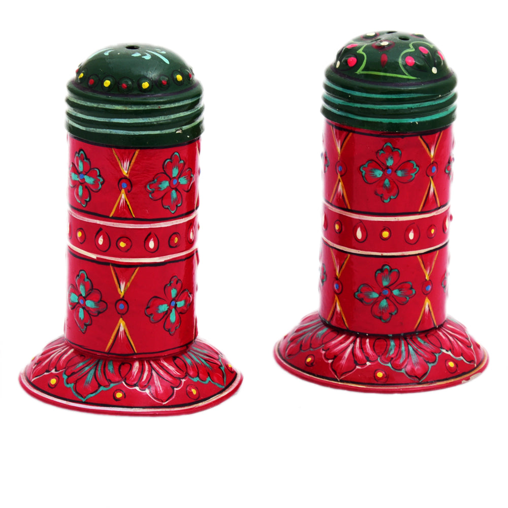 Hand Painted salt & Pepper Shaker set of 2 Pieces