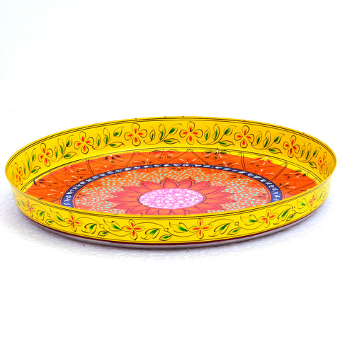 Round Tray plate- Puja Thali