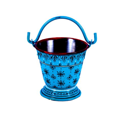 Hand Painted Small Bucket Perfect for tapas dishes nibbles & dips And Dal