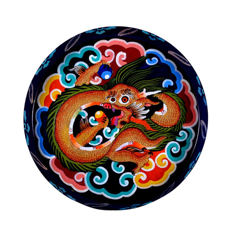 Round Tray- The Dragon