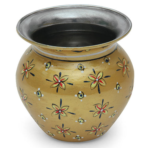 Stainless steel kalash - Gold