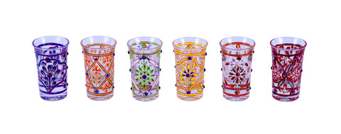 Shot Glasses Set of 6- Rainbow