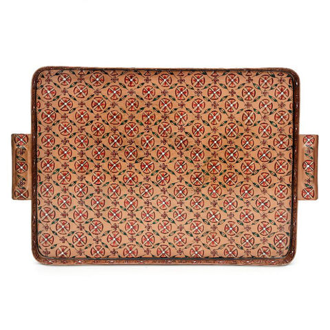 Serve In Style. A Totally Unique Tray To Show Your Hospitality With A Touch Of Mughal Art.